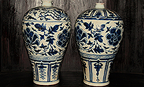 Blue and White Porcelain Pieces