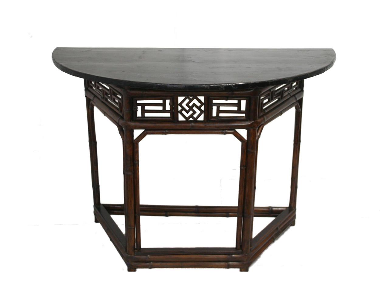 Bamboo Half Moon Table Orient House