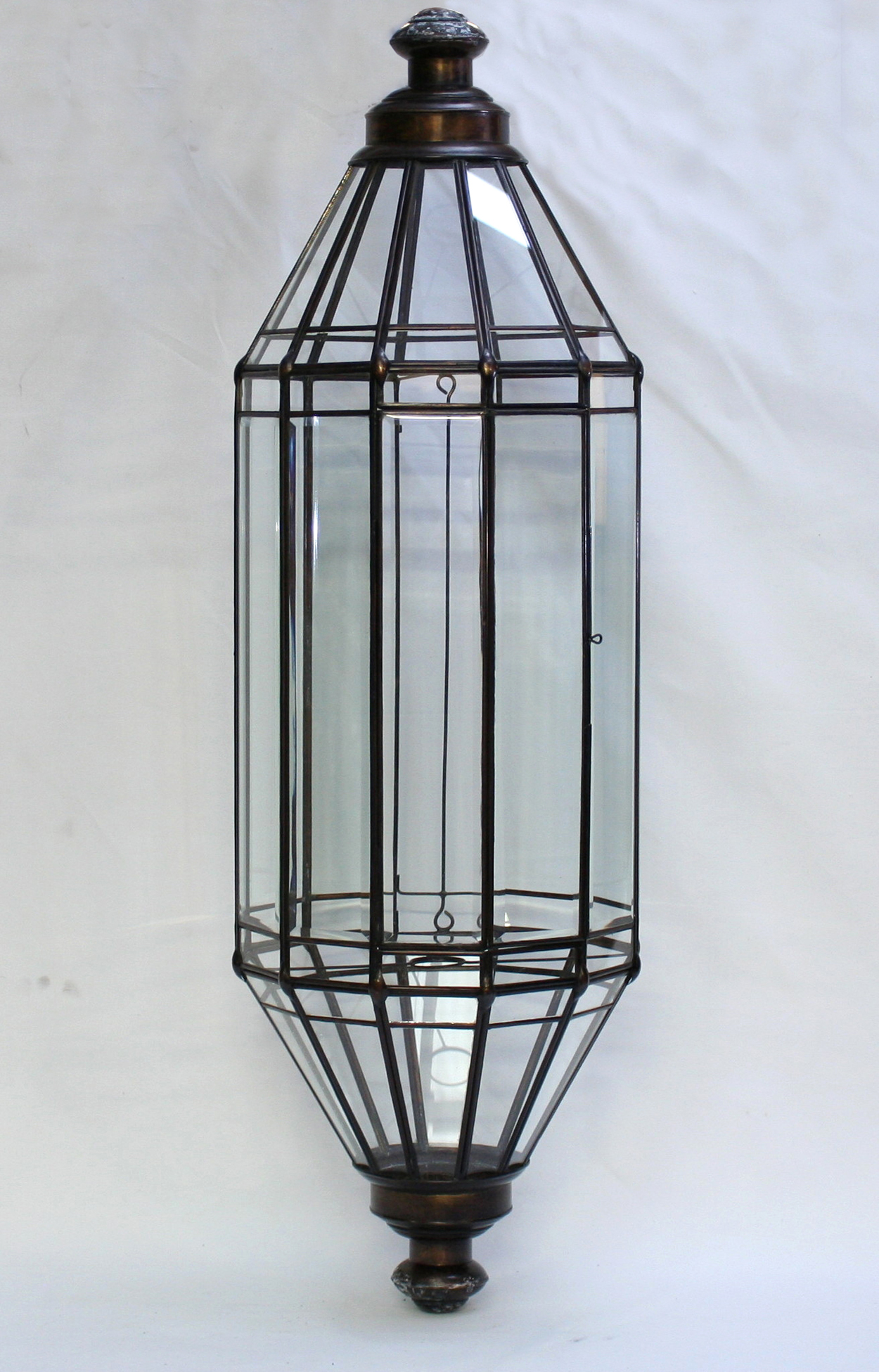Chinese Lantern Wall Lights : 10 Sided Wall Lantern - Orient House