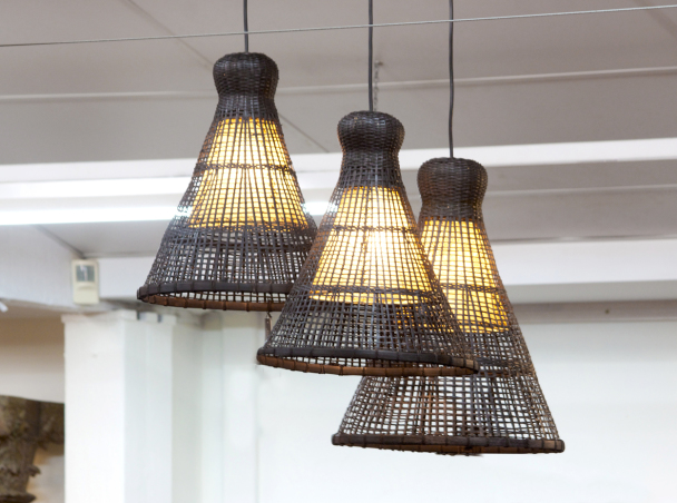 Fish trap light black orient house for Fish house lights