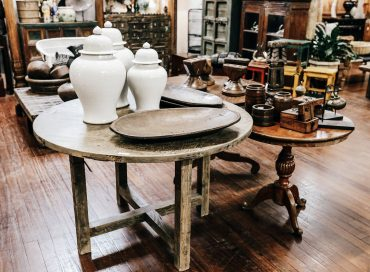 Round Table | Temple Jar | Mentawai  Plate |Candle Stand