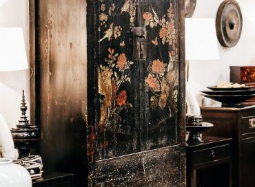 Painted Shanxi Cupboard