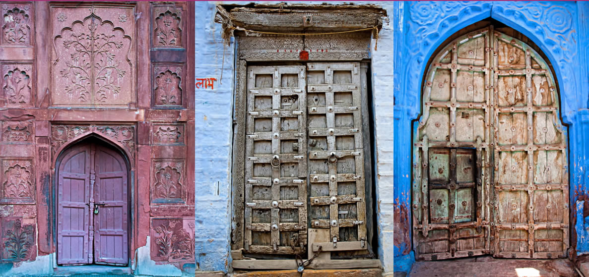 antique indian doors