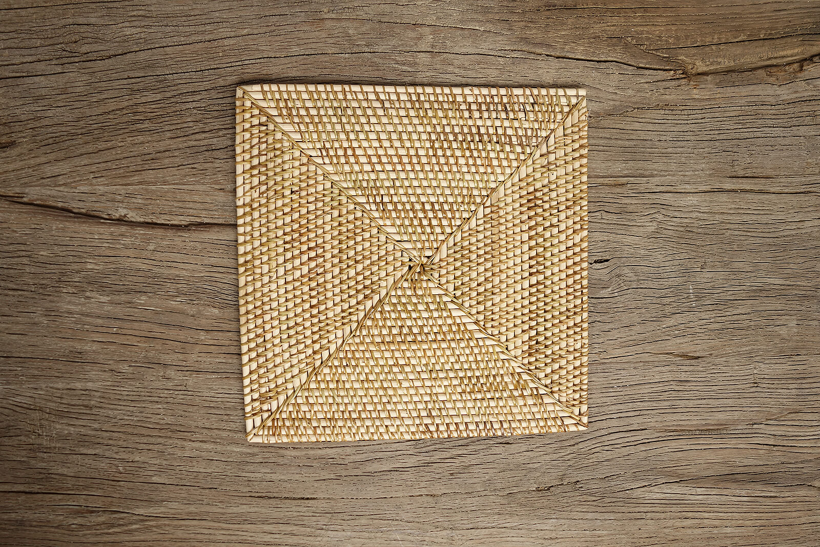 Rattan Square Placemat WW