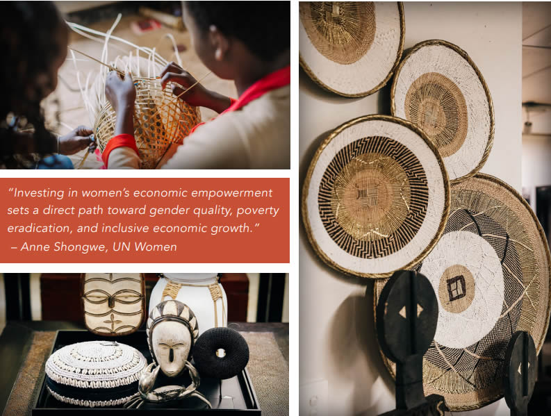 making african baskets